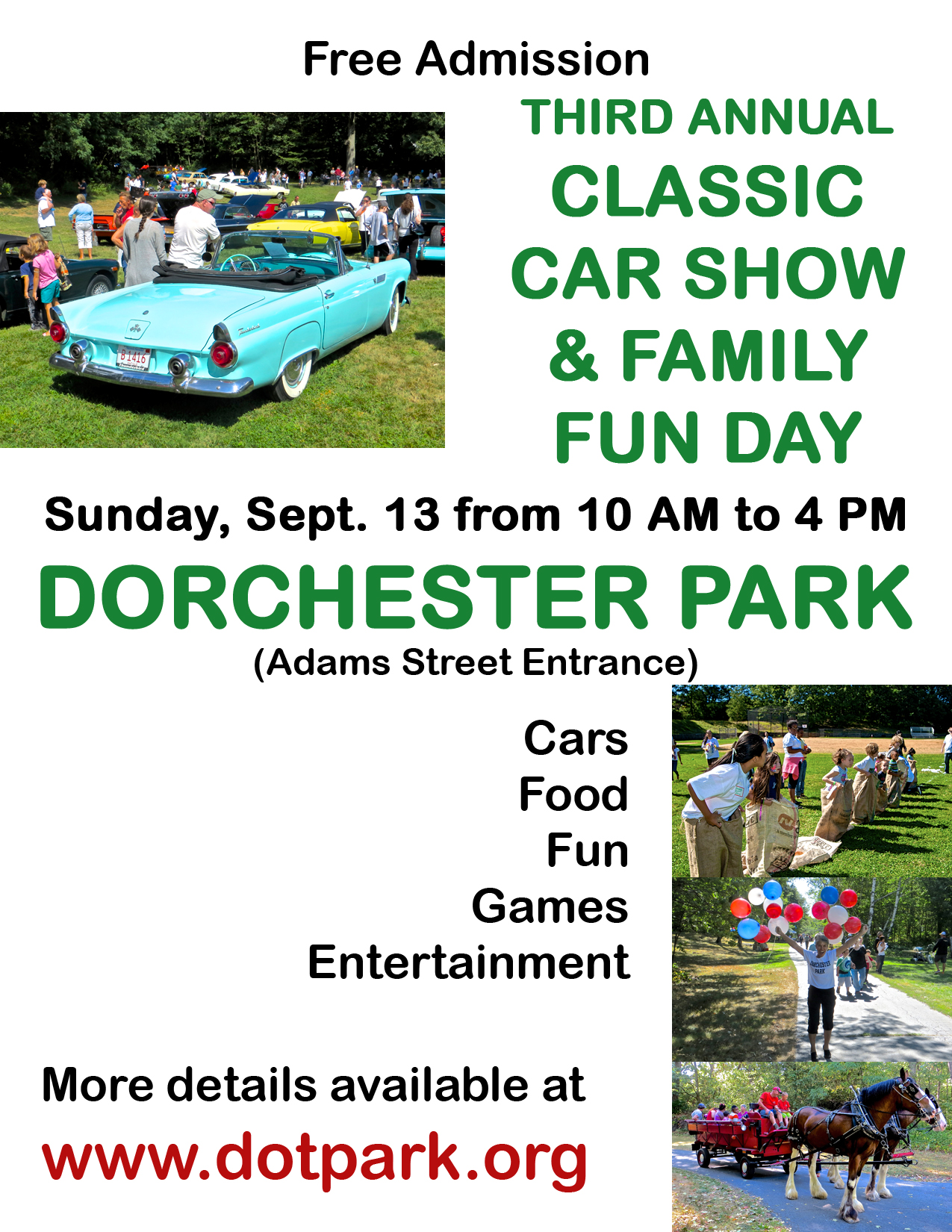 Car ShowSunday September Final Details Of Car Show And - Car show schedule